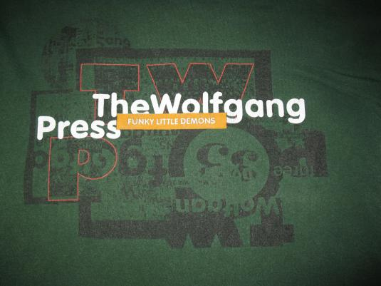 THE WOLFGANG PRESS FUNKY LITTLE DEMONS VINTAGE T-SHIRT 4AD