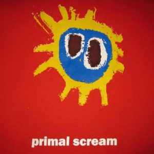 1991 PRIMAL SCREAM SCREAMADELICA VINTAGE T-SHIRT CREATION