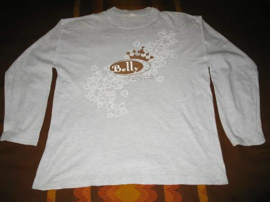 1995 BELLY KING LONGSLEEVE VINTAGE T-SHIRT 4AD TANYA DONELLY