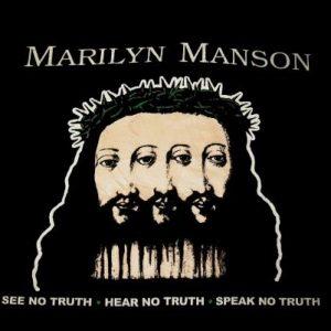 MARILYN MANSON BELIEVE VINTAGE T-SHIRT