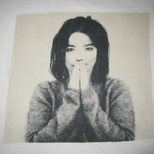 1993 BJORK DEBUT VINTAGE LONG SLEEVE T-SHIRT SUGARCUBES