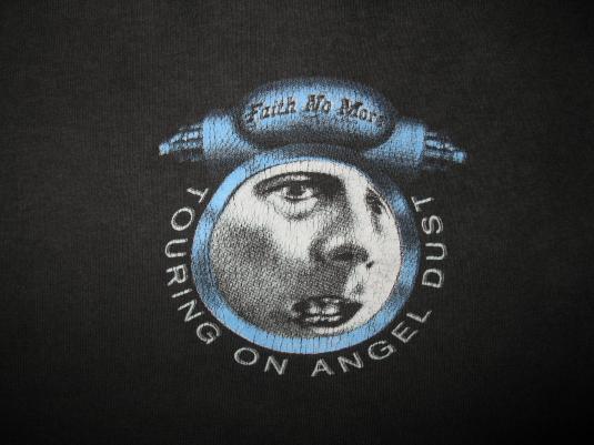 1993 FAITH NO MORE ANGEL DUST TOUR VINTAGE T-SHIRT
