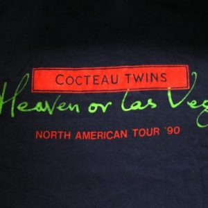 1990 COCTEAU TWINS CREW ONLY VINTAGE T-SHIRT SHOEGAZE