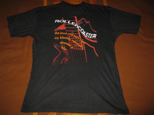 1992 ROLLERCOASTER TOUR VINTAGE T-SHIRT