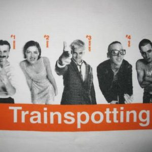 1996 TRAINSPOTTING MOVIE VINTAGE T-SHIRT