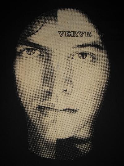 1992 THE VERVE GRAVITY GRAVE VINTAGE T-SHIRT SHOEGAZE