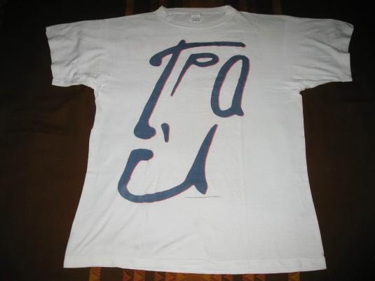 1988 T'PAU THE 1/5 TOUR VINTAGE T-SHIRT