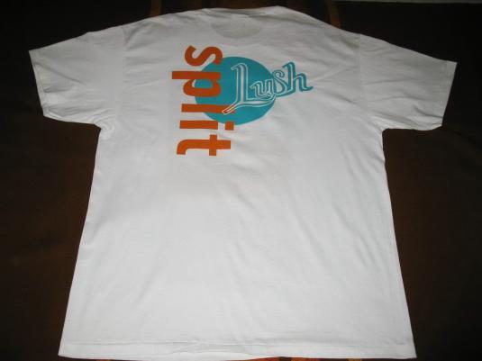 1994 LUSH SPLIT VINTAGE T-SHIRT SHOEGAZE 4AD