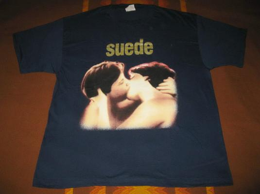 1993 SUEDE DEBUT ALBUM PROMO VINTAGE T-SHIRT BRITPOP
