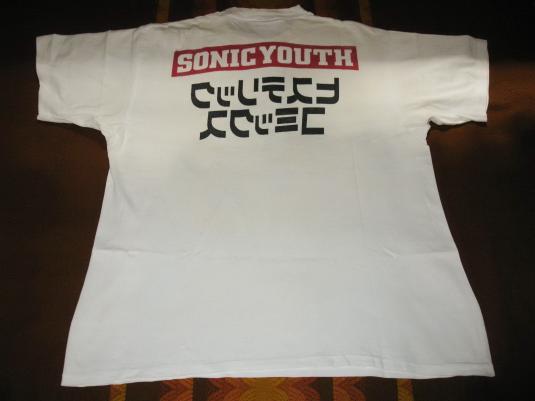 1992 SONIC YOUTH COMIC SPACEMAN VINTAGE T-SHIRT AUSTRALIA