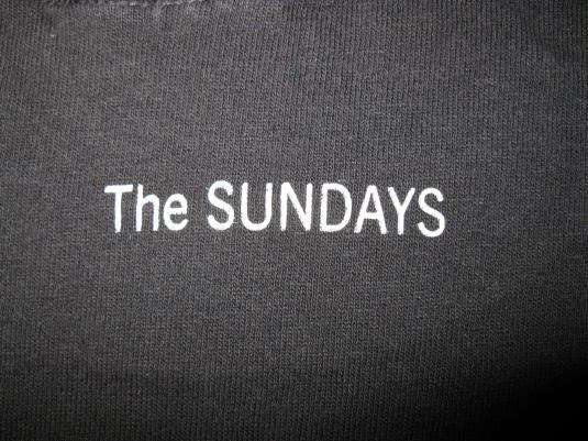 1992 THE SUNDAYS BLIND VINTAGE T-SHIRT SHOEGAZE