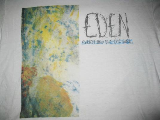 1984 EVERYTHING BUT THE GIRL EDEN VINTAGE T-SHIRT 80S