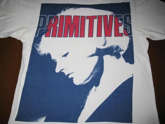1988 THE PRIMITIVES – LOVELY – VINTAGE T-SHIRT