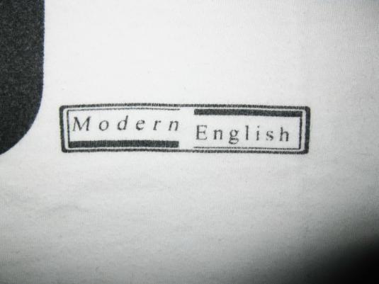 MODERN ENGLISH I MELT WITH YOU VINTAGE T-SHIRT