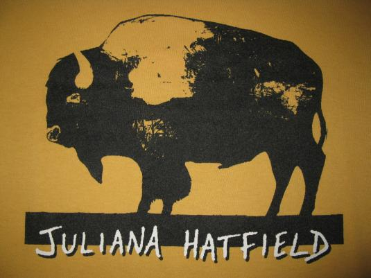 1995 JULIANA HATFIELD ONLY EVERYTHING V.2 VINTAGE T-SHIRT