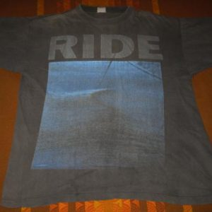 1991 RIDE NOWHERE VINTAGE T-SHIRT SHOEGAZE CREATION RECORDS