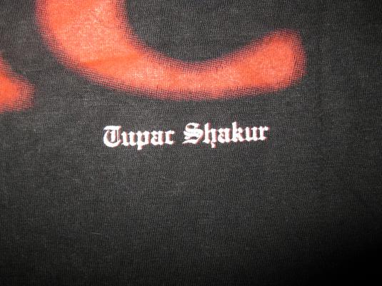 1997 TUPAC ONLY GOD CAN JUDGE ME VINTAGE T-SHIRT 2PAC