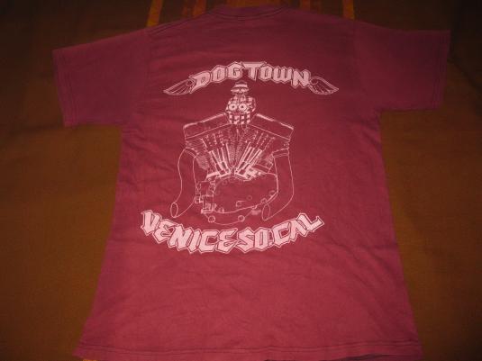 DOGTOWN VENICE SOUTH CALIFORNIA VINTAGE T-SHIRT