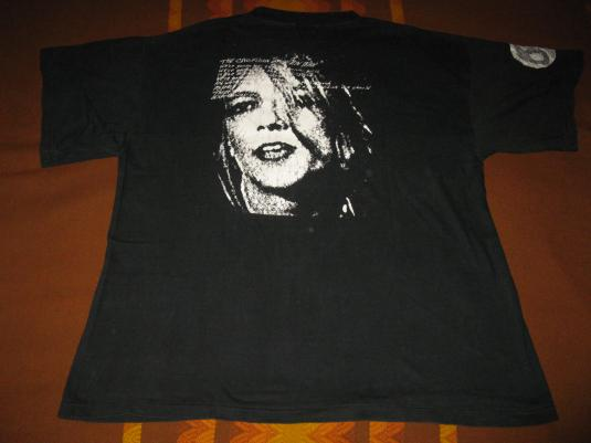 80s SONIC YOUTH BAD MOON RISING VINTAGE T-SHIRT
