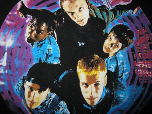 1995 HACKERS ANGELINA JOLIE DEBUT MOVIE VINTAGE T-SHIRT