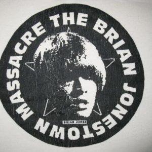 1998 THE BRIAN JONESTOWN MASSACRE VINTAGE T-SHIRT SHOEGAZE