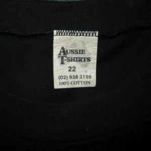 1991 RIDE NOWHERE AUSSIE TOUR VINTAGE T-SHIRT SHOEGAZE