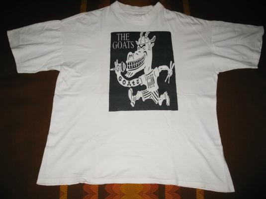 1992 THE GOATS TRICKS OF THE SHADE VINTAGE T-SHIRT