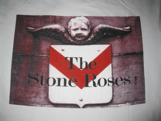 1995 STONE ROSES UK TOUR VINTAGE T-SHIRT INDIE MADCHESTER