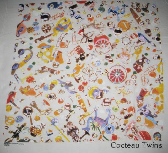 1994 COCTEAU TWINS FCC VINTAGE T-SHIRT SHOEGAZE 4AD