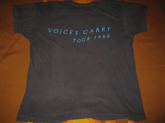 1985 TIL TUESDAY VOICES CARRY VINTAGE T-SHIRT AIMEE MANN