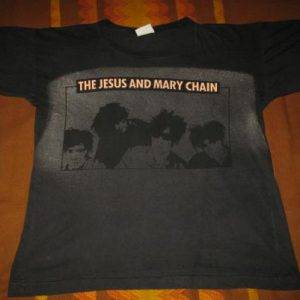 80s THE JESUS AND MARY CHAIN HEAD ON VINTAGE T-SHIRT
