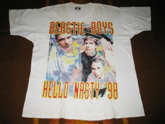 1998 BEASTIE BOYS HELLO NASTY TOUR VINTAGE T-SHIRT