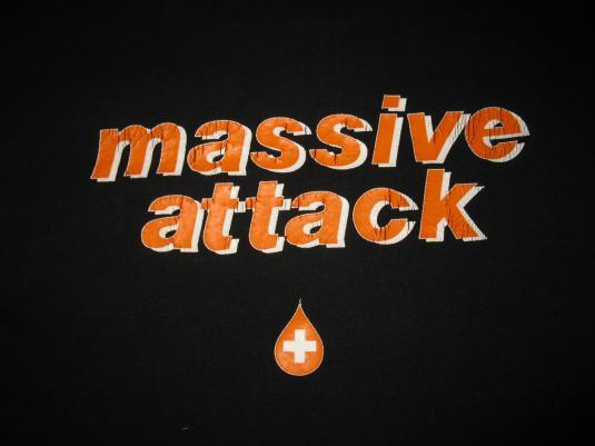 1994 MASSIVE ATTACK EUROCHILD VINTAGE T-SHIRT