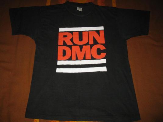 1988 RUN DMC TOUGHER THAN LEATHER ERA VINTAGE T-SHIRT
