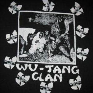 1993 WU TANG CLAN 36 CHAMBERS VINTAGE T-SHIRT