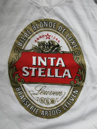 90S INTASTELLA STELLA ARTOIS-ESQUE VINTAGE T-SHIRT