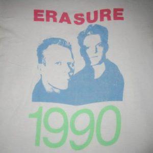 1990 ERASURE THE WILD! TOUR VINTAGE T-SHIRT