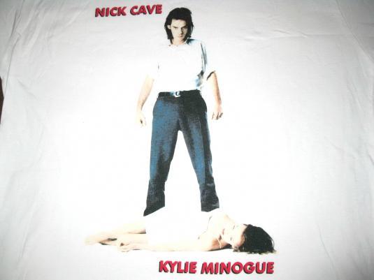 1995 NICK CAVE & THE BAD SEEDS + KYLIE MINOGUE VINTAGE SHIRT