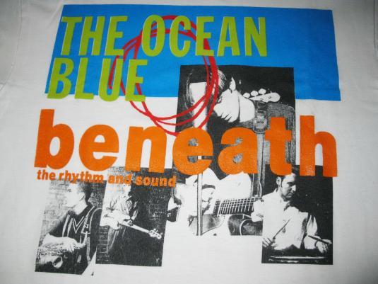 1993 THE OCEAN BLUE BENEATH THE RHYTHM VINTAGE TEE SHOEGAZE