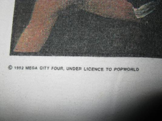 1992 MEGA CITY FOUR SEBASTOPOL RD TOUR VINTAGE T-SHIRT