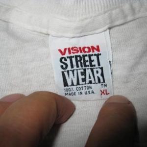 VISION STREET WEAR JOHN GRIGLEY VINTAGE SHIRT