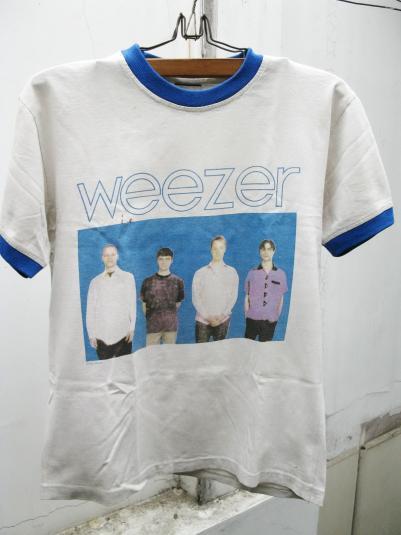 WEEZER BLUE ALBUM VINTAGE T-SHIRT