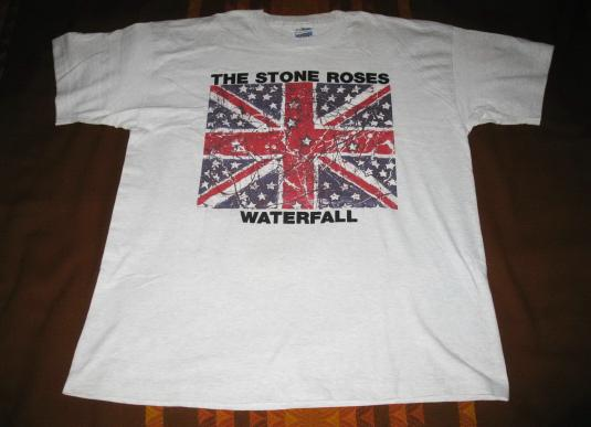 1992 THE STONE ROSES WATERFALL VINTAGE T-SHIRT