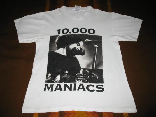 10,000 MANIACS SUMMER 93 VINTAGE T-SHIRT