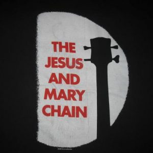 1988 JESUS AND MARY CHAIN BARBED WIRE KISSES VINTAGE T-SHIRT