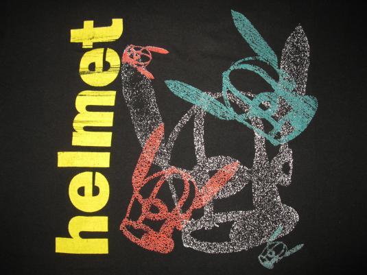 1992 HELMET – IN THE MEANTIME TOUR – VINTAGE T-SHIRT