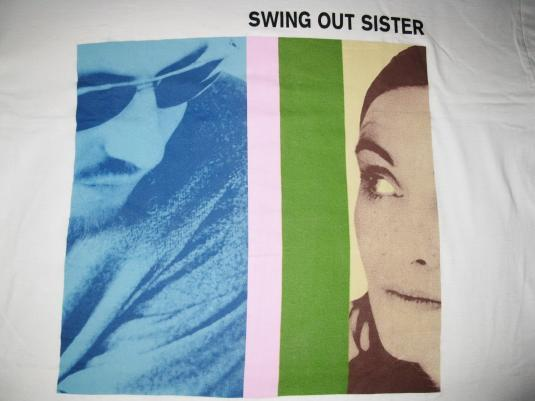 1994 SWING OUT SISTER THE LIVING RETURN VINTAGE T-SHIRT