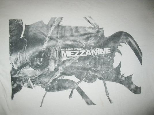 1998 MASSIVE ATTACK MEZZANINE TOUR VINTAGE T-SHIRT