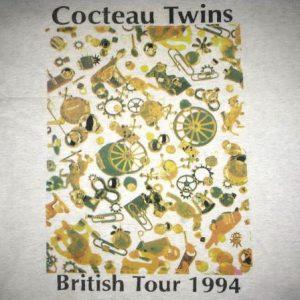1994 COCTEAU TWINS FOUR CALENDAR CAFE TOUR VINTAGE T-SHIRT