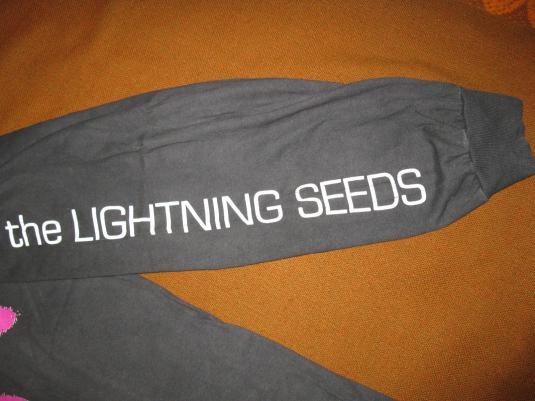 1992 THE LIGHTNING SEEDS SENSE VINTAGE T-SHIRT BRITPOP
